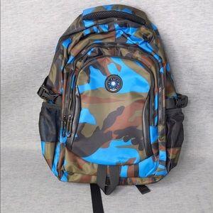 Camouflage School Backpack